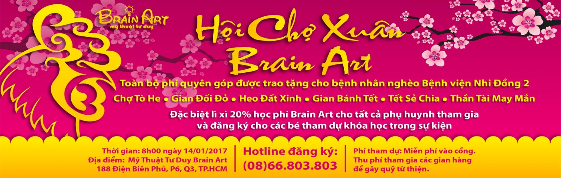 Hội Chợ Xuân Brain Art 2017