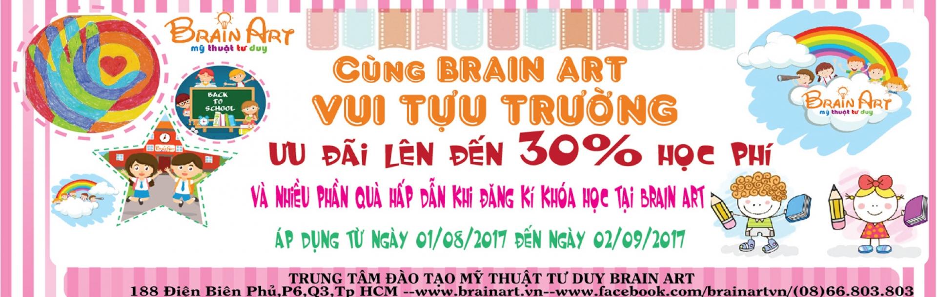 Cùng Brain Art Vui Tựu Trường