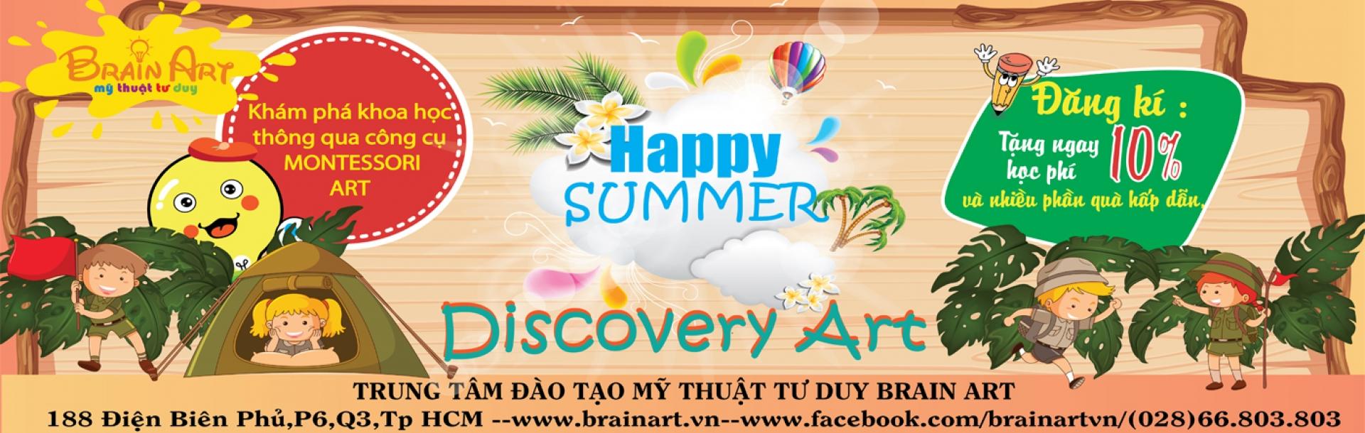 Chương trình hè Discovery Art